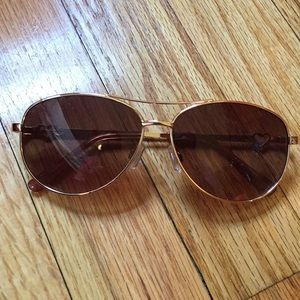 NWOT Juicy Couture Aviator Sunglasses